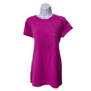 Lululemon pink swiftly T-shirt size 12